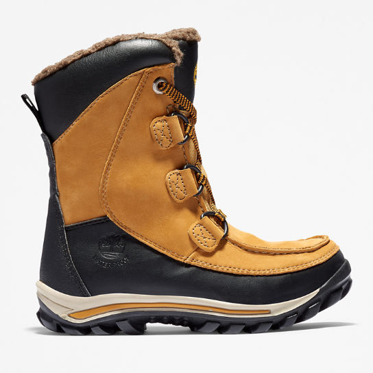 Warme Chillberg Boots für Kinder in Gelb | Timberland