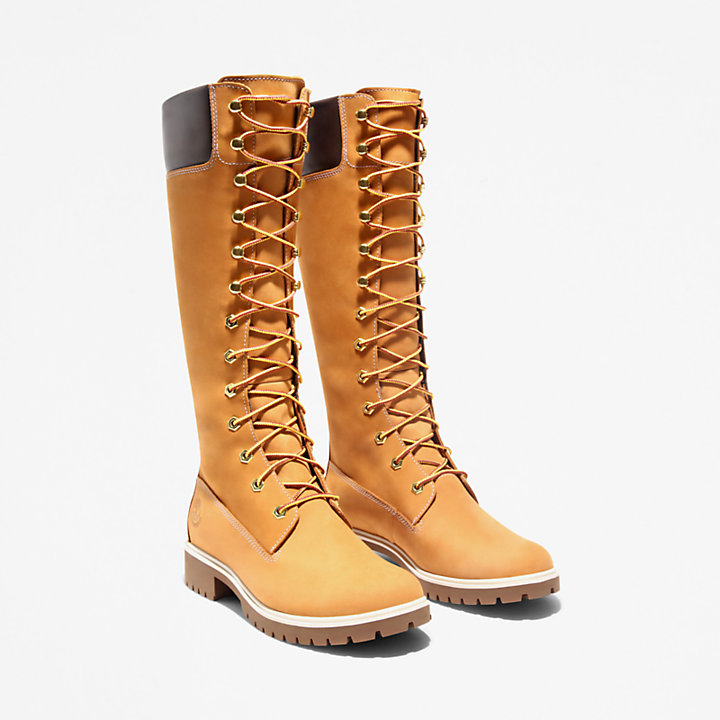 Premium 14'' Boot for Women in Yellow-