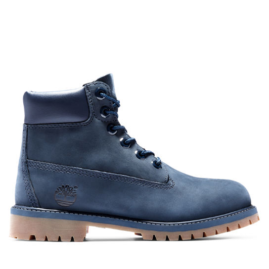 Premium 6 Inch Boot for Junior in Blue | Timberland