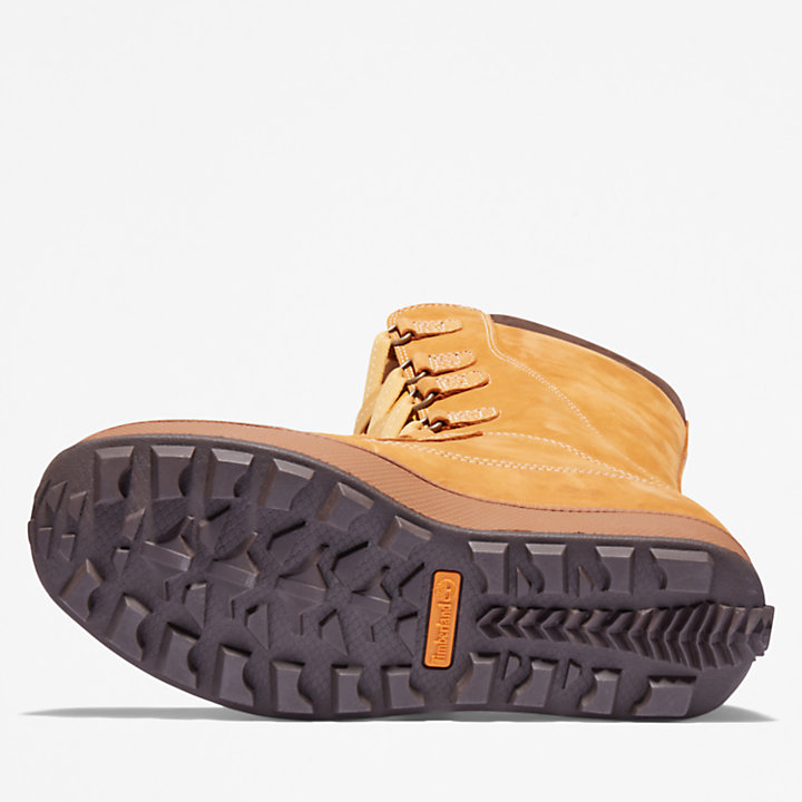 8 Inch Mukluk Boot voor Juniors in geel-