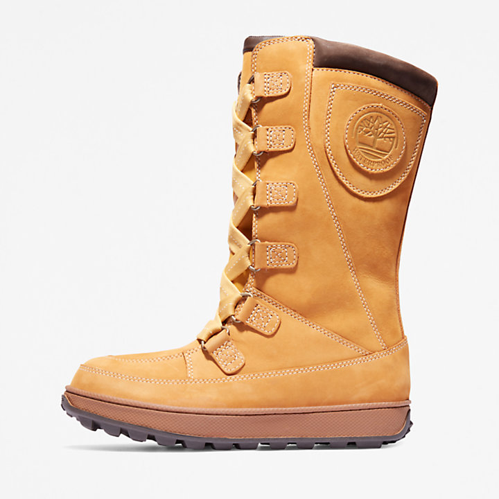 8-Inch Boot Mukluk junior en jaune-