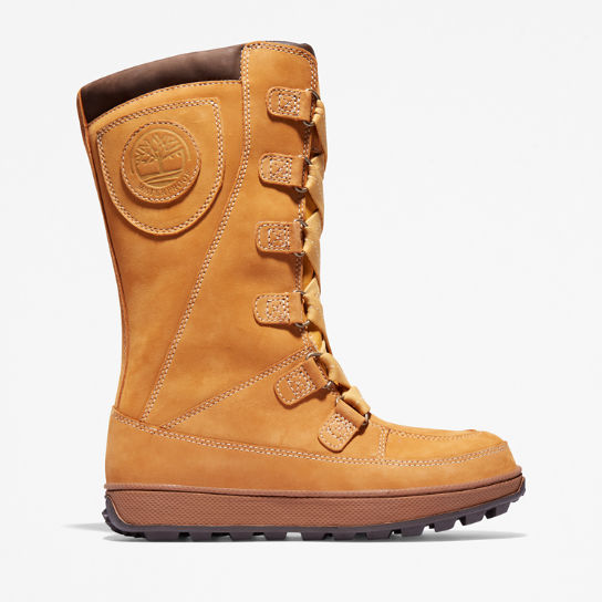 8 Inch Mukluk Boot voor Juniors in geel | Timberland
