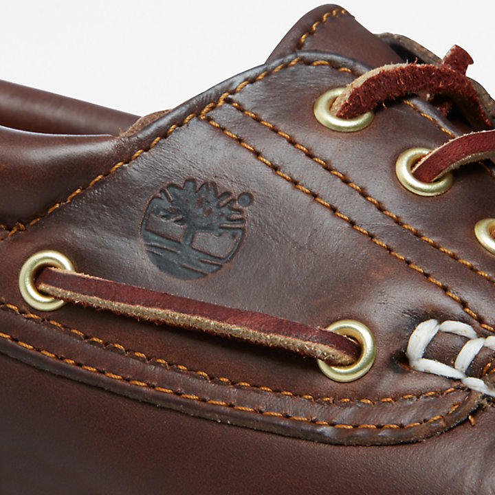 Heritage Noreen  Boat Shoe for Women in Brown-