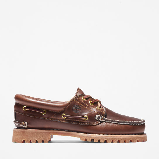 Noreen 3-Eye Boat Shoe for Women in Brown | Timberland