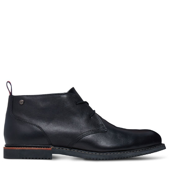 Brook Park Chukka for Men in Black | Timberland