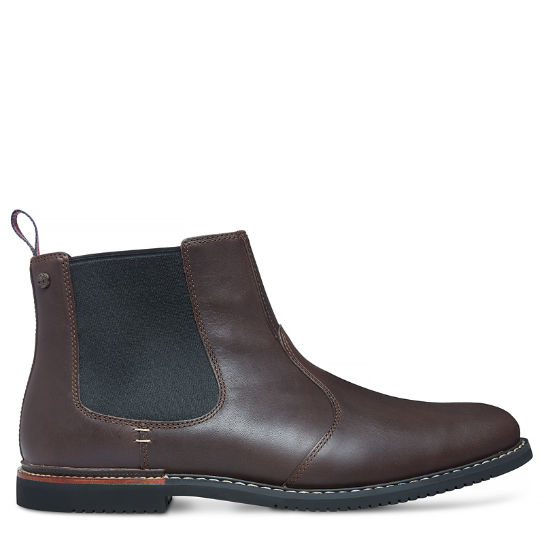 Brook Park Chelsea Boot for Men in Brown | Timberland