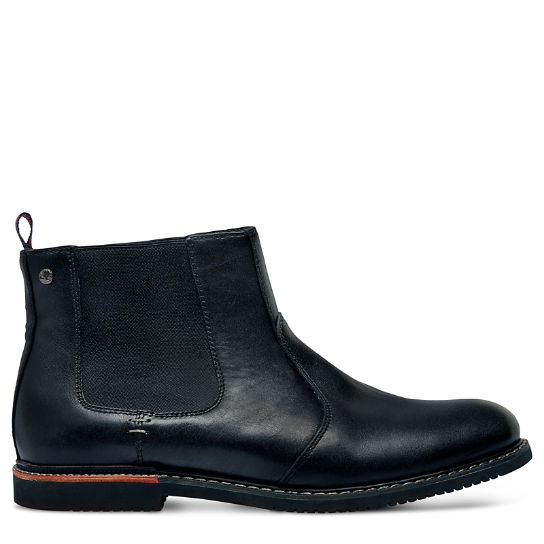Brook Park Chelsea Boot for Men in Black | Timberland