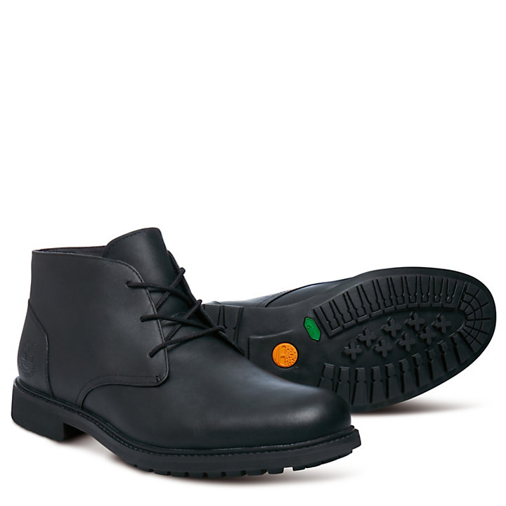 Stormbuck Chukka for Men in Black-