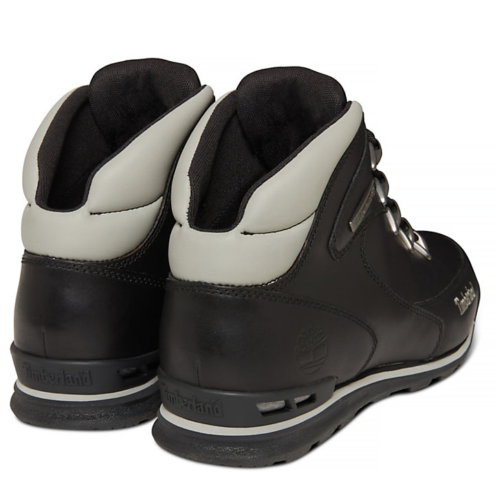 Euro Rock Hiker for Men in Black-