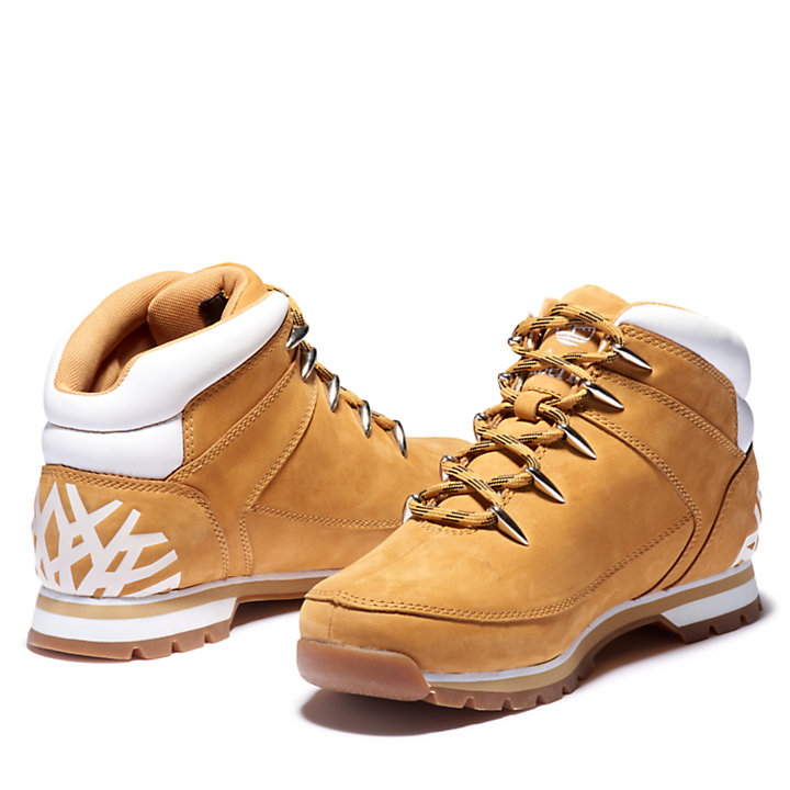 Euro Sprint Mid Hiker for Men in Yellow/White-