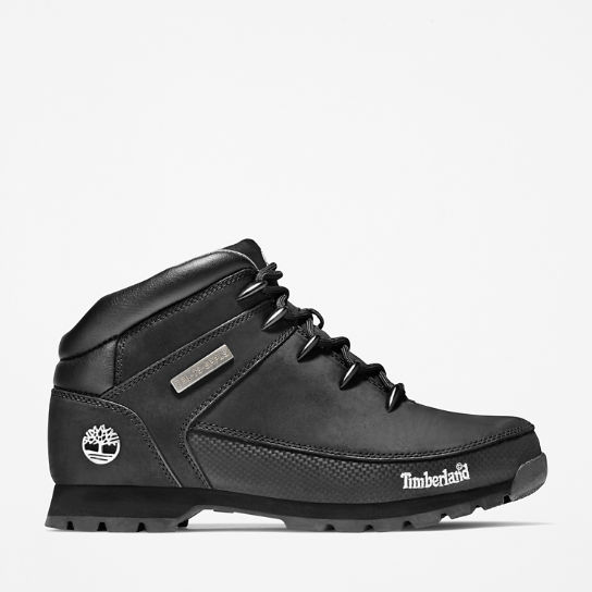 Euro Sprint Mid Hiker for Men in Black | Timberland