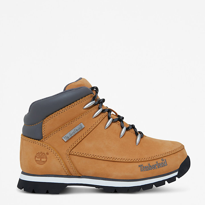 Euro Sprint Mid Hiker for Youth in Yellow-