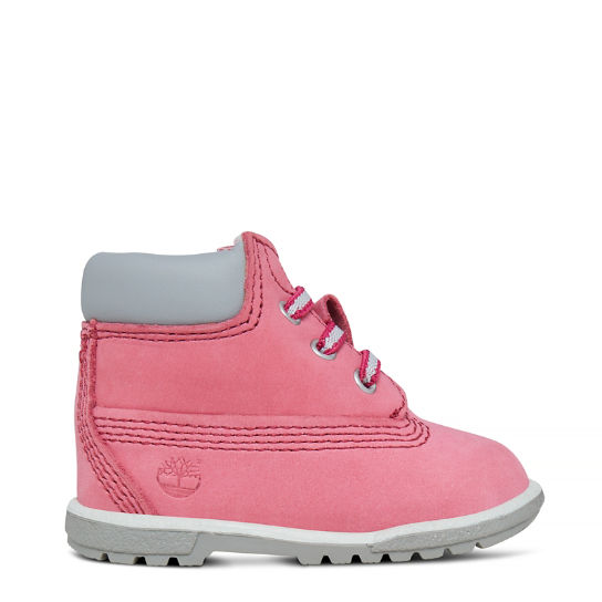 6 Inch Crib Bootie for Infant in Pink | Timberland