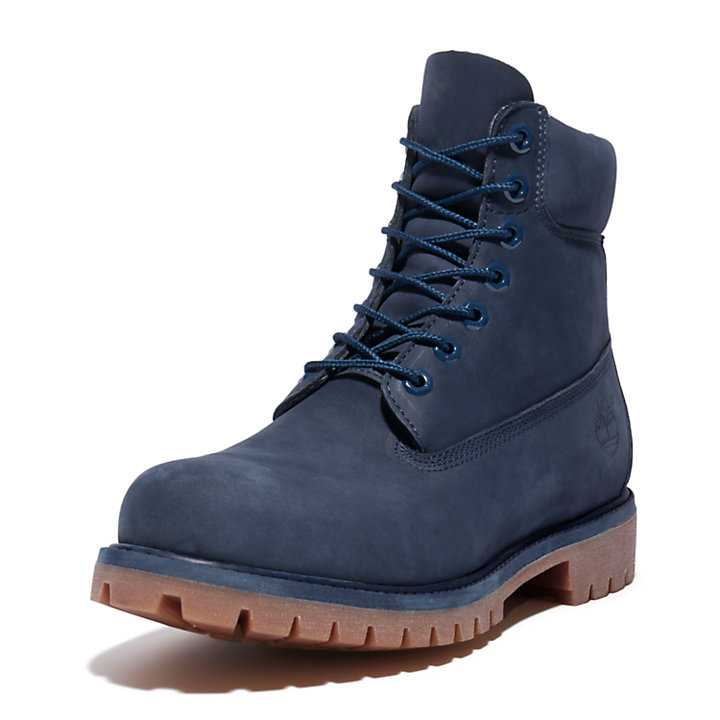 Exclusive 6 Inch Premium Boot for Men in Blue-