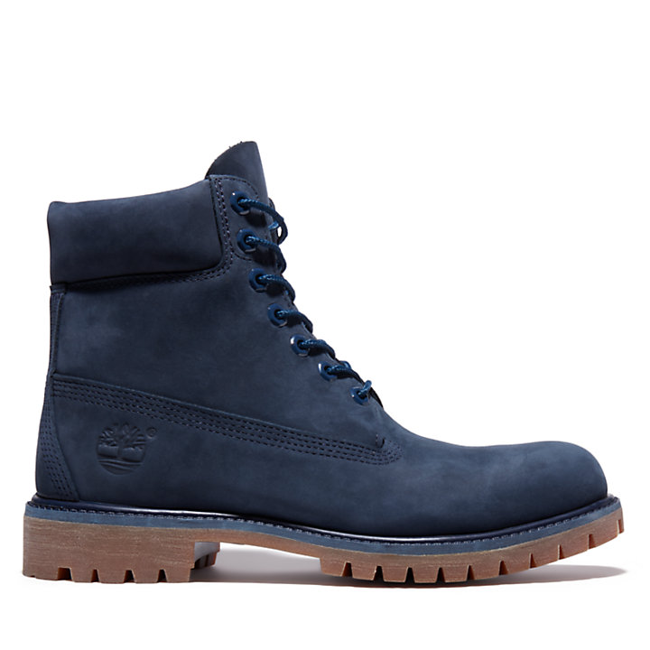 Exclusive 6 Inch Premium Boot for Men in Blue-