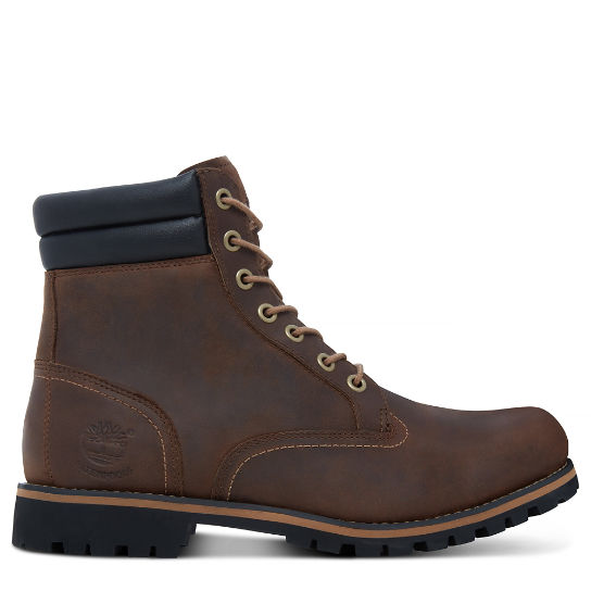 Foraker 6 Inch Boot for Men in Dark Brown | Timberland