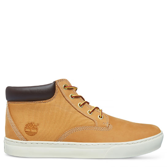 Men's Dauset Chukka Leather Yellow | Timberland