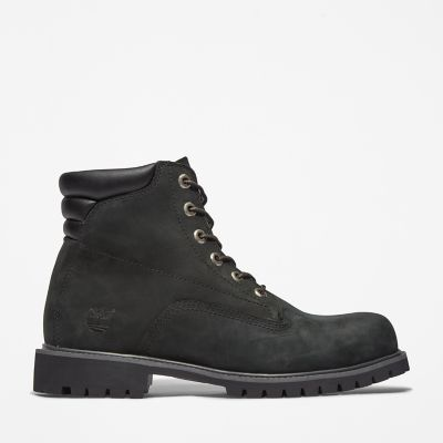 Alburn+6+inch+Boot+for+Men+in+Black