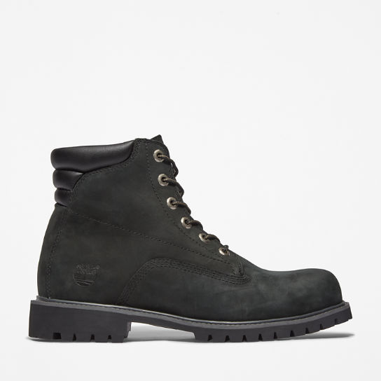 Men's 6-inch Alburn Boot Black Nubuck | Timberland