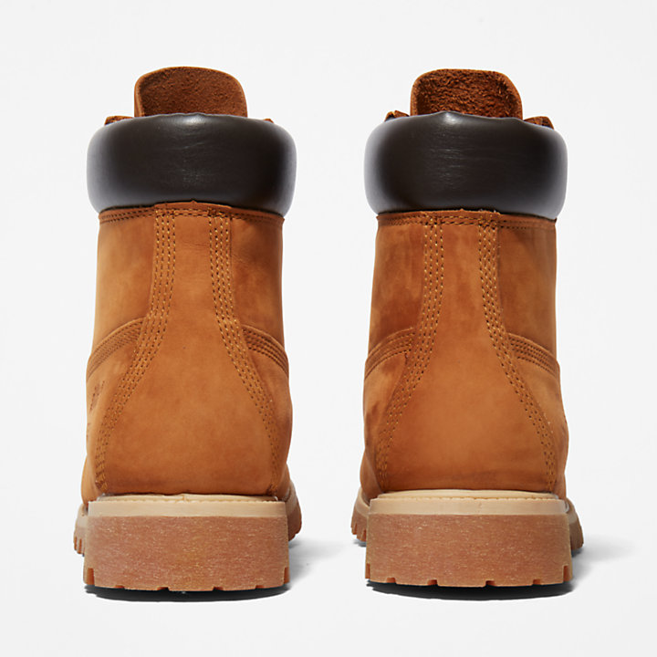 Premium 6 Inch Boot for Men in Rust-