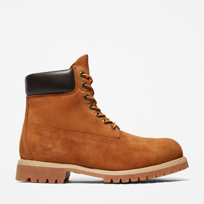 Premium+6+Inch+Boot+for+Men+in+Light+Brown