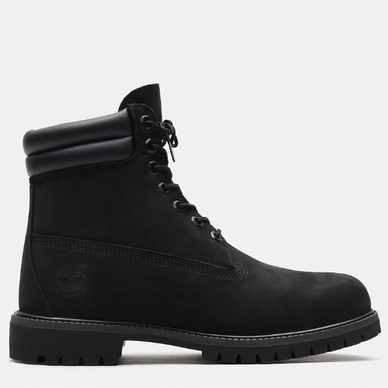 6 Inch Double Collar Boot voor Heren in zwart | Timberland