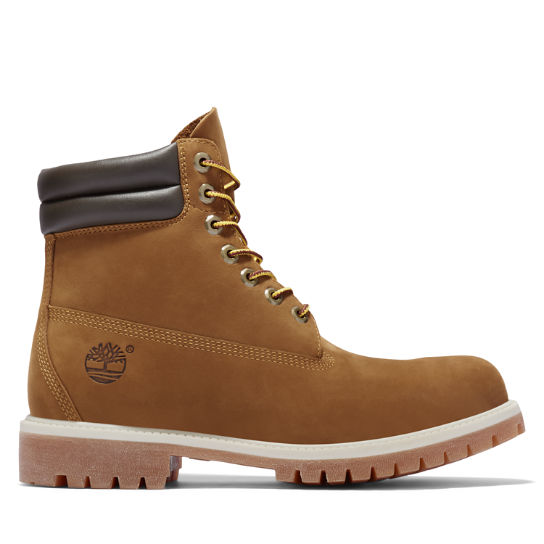 6 Inch Double Collar Boot voor Heren in bruin | Timberland