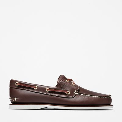 Classic+2-Eye+Boat+Shoe+for+Men+in+Brown