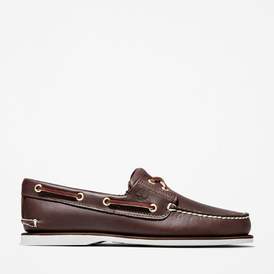 Classic Boat Shoe for Men in Brown | Timberland