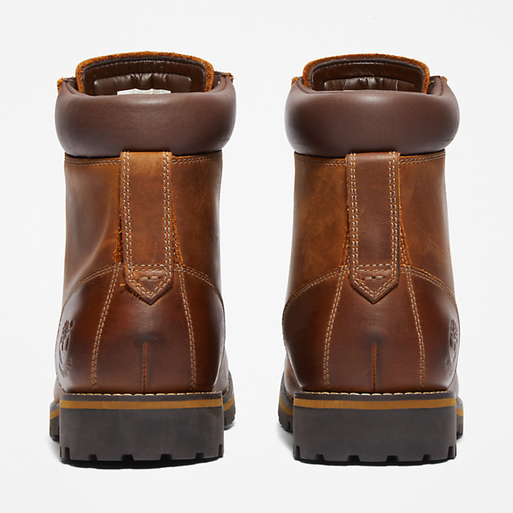 Rugged 6 Inch Boot  for Men in Brown-