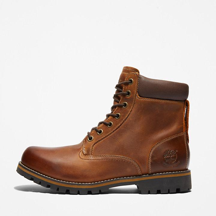 6 Inch Rugged Boot voor Heren in bruin-