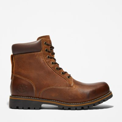 Rugged+6+Inch+Boot++for+Men+in+Brown
