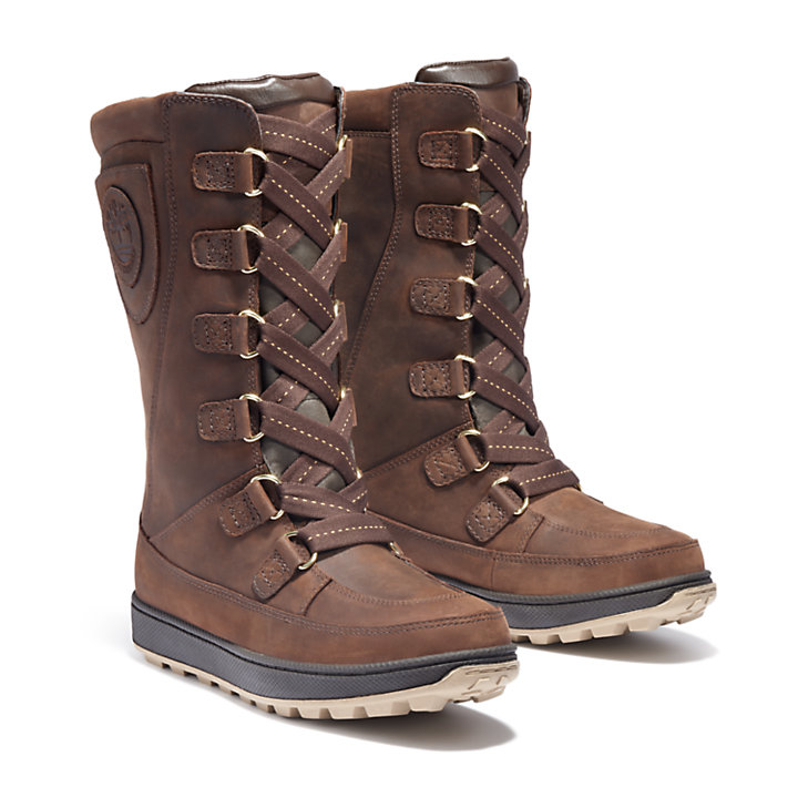 8 Inch Mukluk Boot for Junior in Brown-