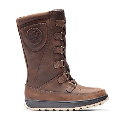 8-Inch+Boot+Mukluk+junior+en+marron