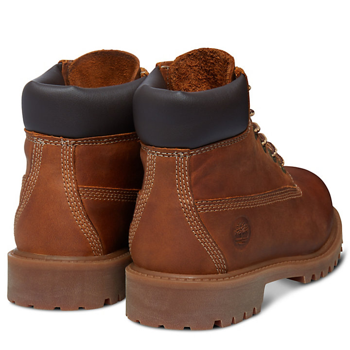 6-Inch Boot Authentics pour enfant en rouille-