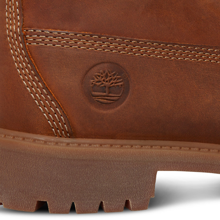 Authentics 6 Inch Boot for Youths in Rust-