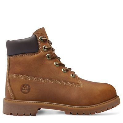 Authentics+6+Inch+Boot+for+Juniors+in+Rust