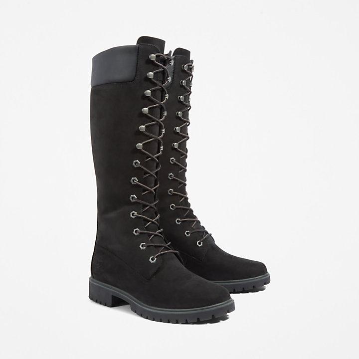14-inch Boot Premium pour femme en noir-