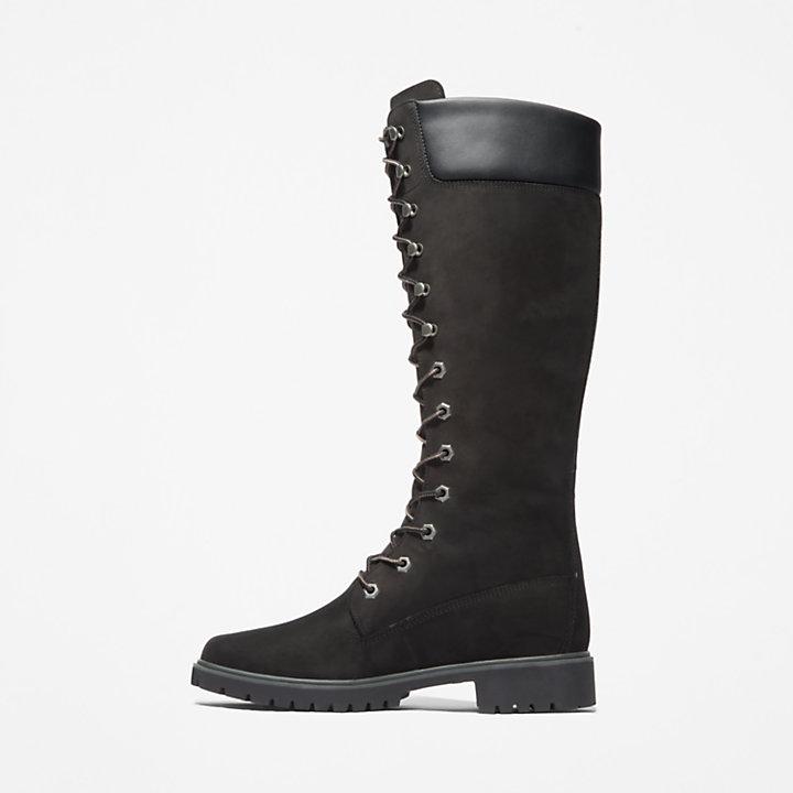 Bota Premium 14'' para Mujer en color negro-