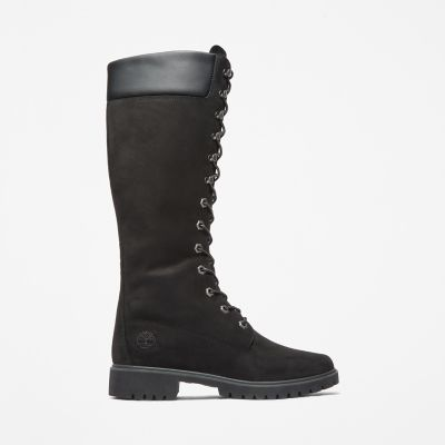 Premium+14%27%27+Boot+for+Women+in+Black