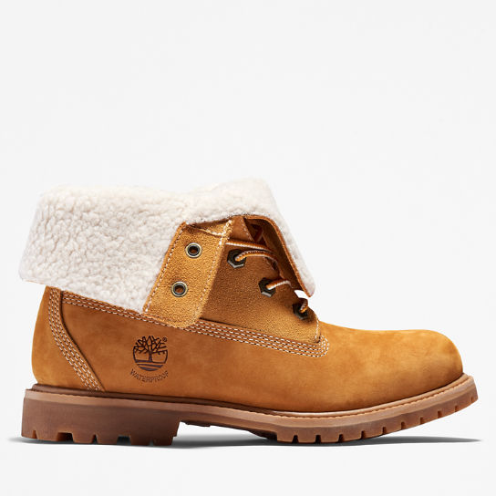 Authentics Teddy Fleece Boot for Women in Yellow | Timberland