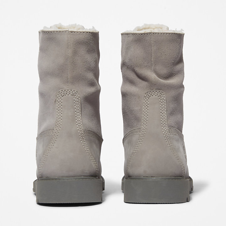 Bottine Authentics molletonnée pour femme en taupe-