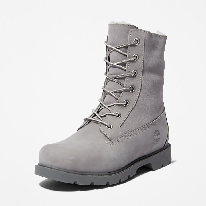 Authentics Fleece Boot voor Dames in Taupe-