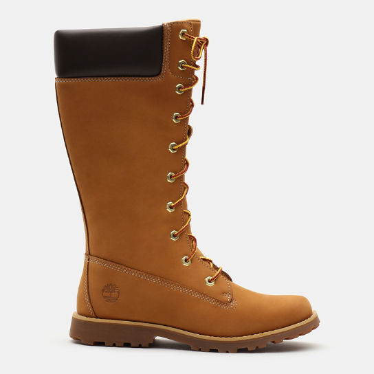 Tall Lace-Up Boot for Junior in Yellow | Timberland