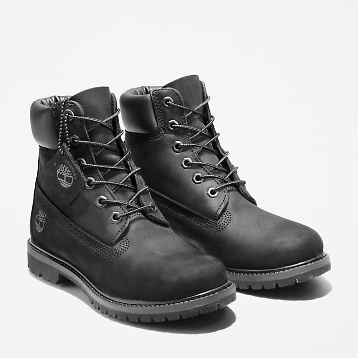6 Inch Premium Boot for Women in Black-