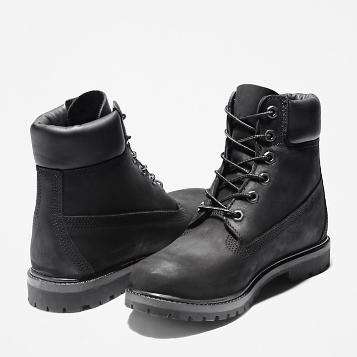 Timberland® 6 Inch Boot for Women in Black-