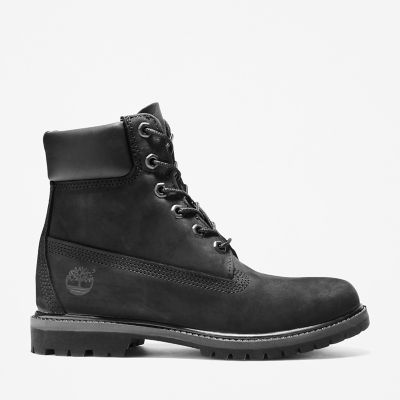 Premium+6+Inch+Boot+for+Women+in+Black