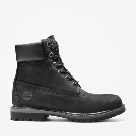 Premium 6 Inch Boot for Women in Black | Timberland
