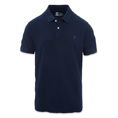 Millers+River+SS+Piqu%C3%A9+Polo+Shirt+for+Men+in+Navy