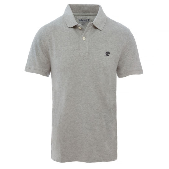 Millers River Polo Shirt Homme Gris | Timberland